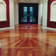 Cleaning Hardwood Floor – Preparing for Finish Re-Coating – Commercial