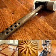 Clean Hardwood Floor – Repairing Minor Damage to Hardwood Floors