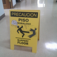 Floor Sign for Sparta