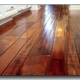 Wood Flooring Cleaning – Spot Mopping – Residential