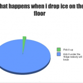 Drop Ice On the Floor