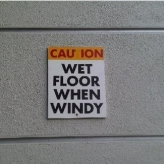 Floor Sign Fail