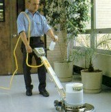 Floor Tile Cleaning – Spray Buffing
