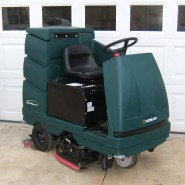 Industrial Floor Cleaning Machine Ride On Scrubber