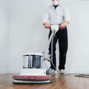 How to Clean a Hardwood Floor – Wet Preparation Process for Refinishing – Commercial