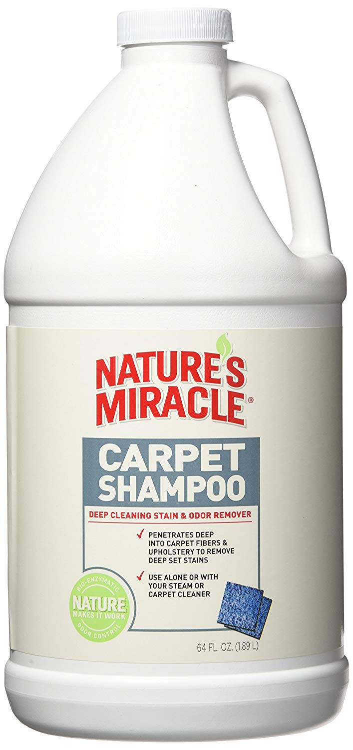 natures miracle stain and odor remover carpet shampoo