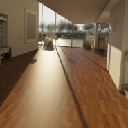interior of a home with hardwood floor
