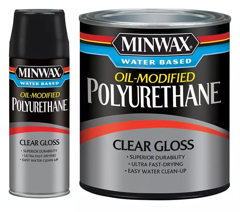 product photo of clear gloss oil modified polyurethane